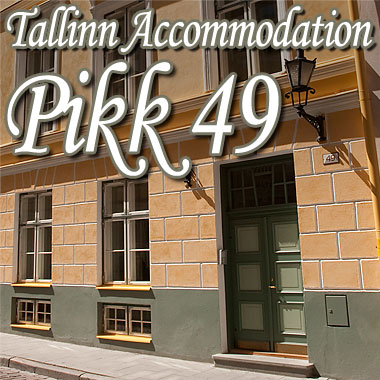 Our Pikk49 accommodation in Tallinn