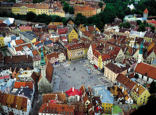 Number 1 in our Tallinn guide is the town square