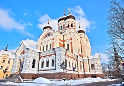 Tallinn breaks should include a visit to Alexander Nevsky cathedral