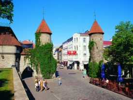 Tallinn city is ideally for an interesting break