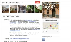 Apartment Accommodation Tallinn Google Plus
